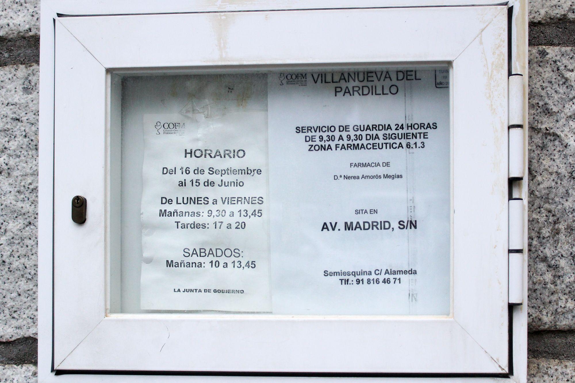 Foto 4 de Farmacias en Quijorna | Farmacia Mª Teresa Lobo