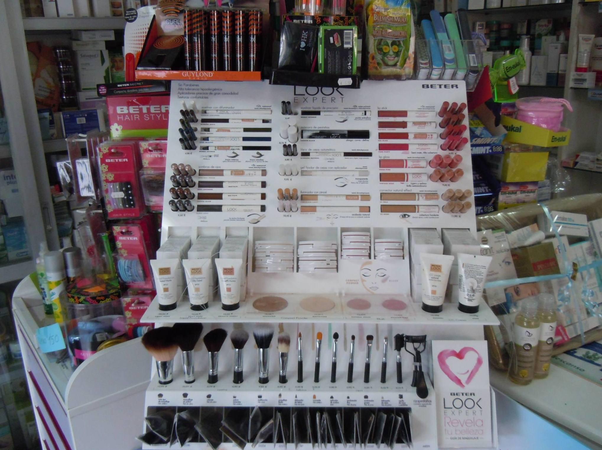 Venta de productos de cosmética