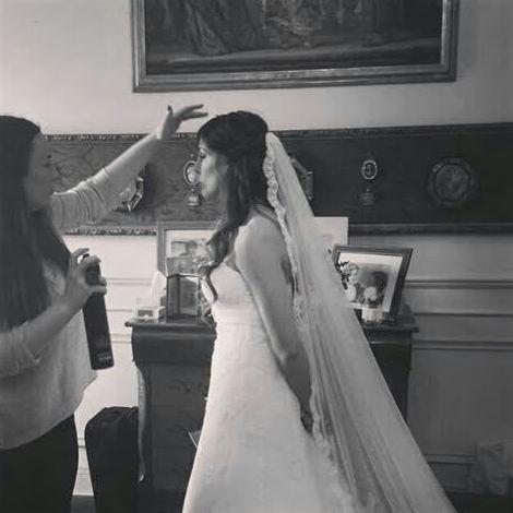 Recogido de novia.