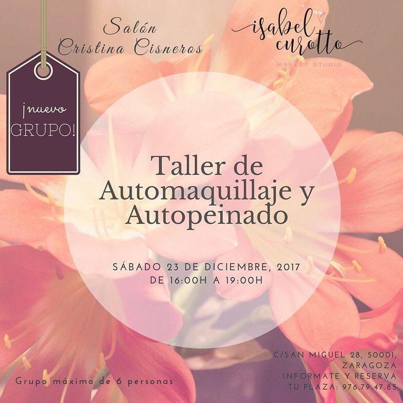Taller de automaquillaje Zaragoza