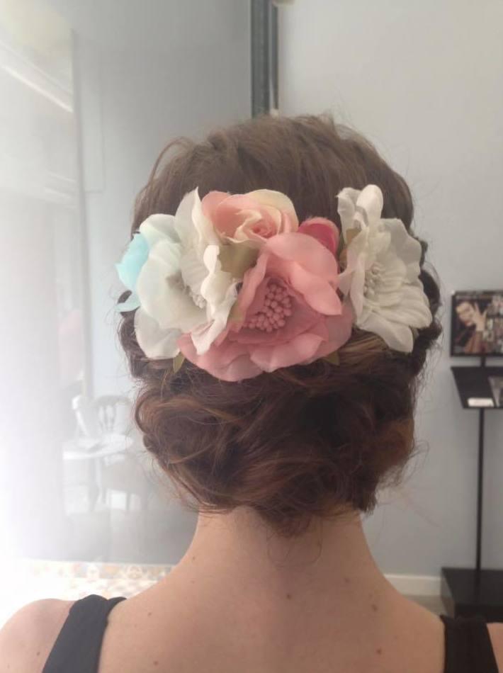 Peluquería especializada en recogidos de novia