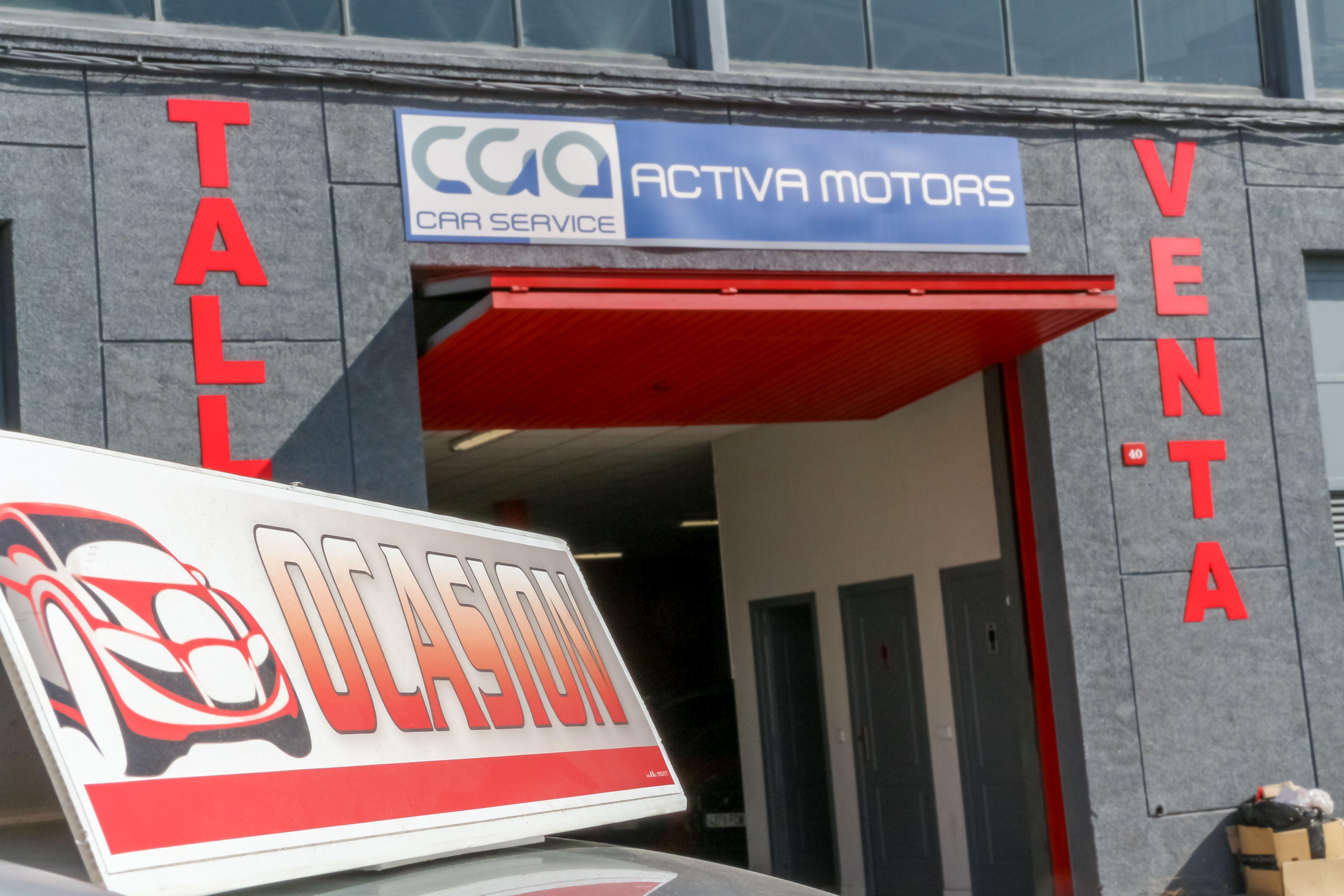 Entrada nave ACTIVA MOTORS