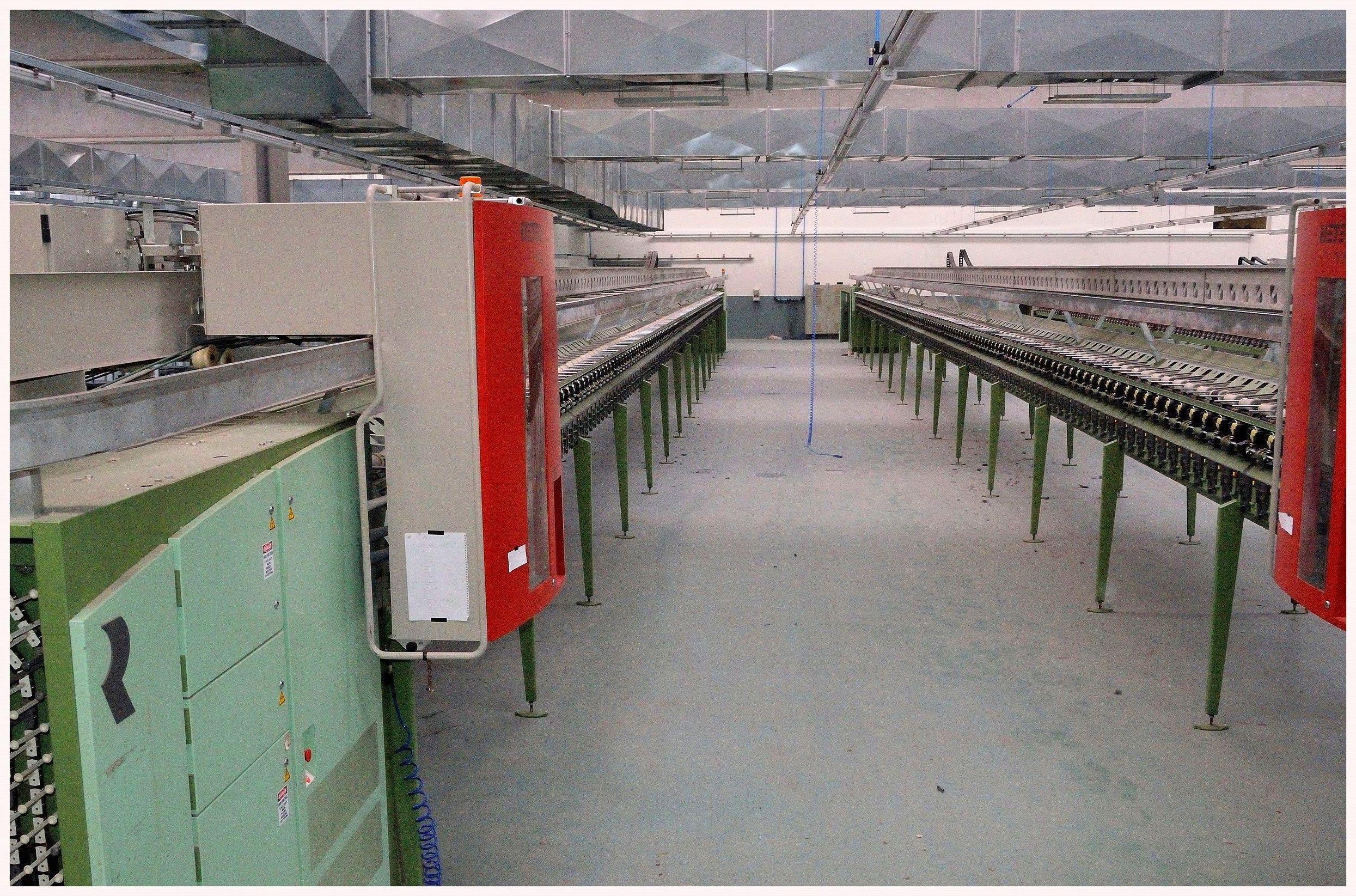 fabrica de bobinas de hilo regenerado