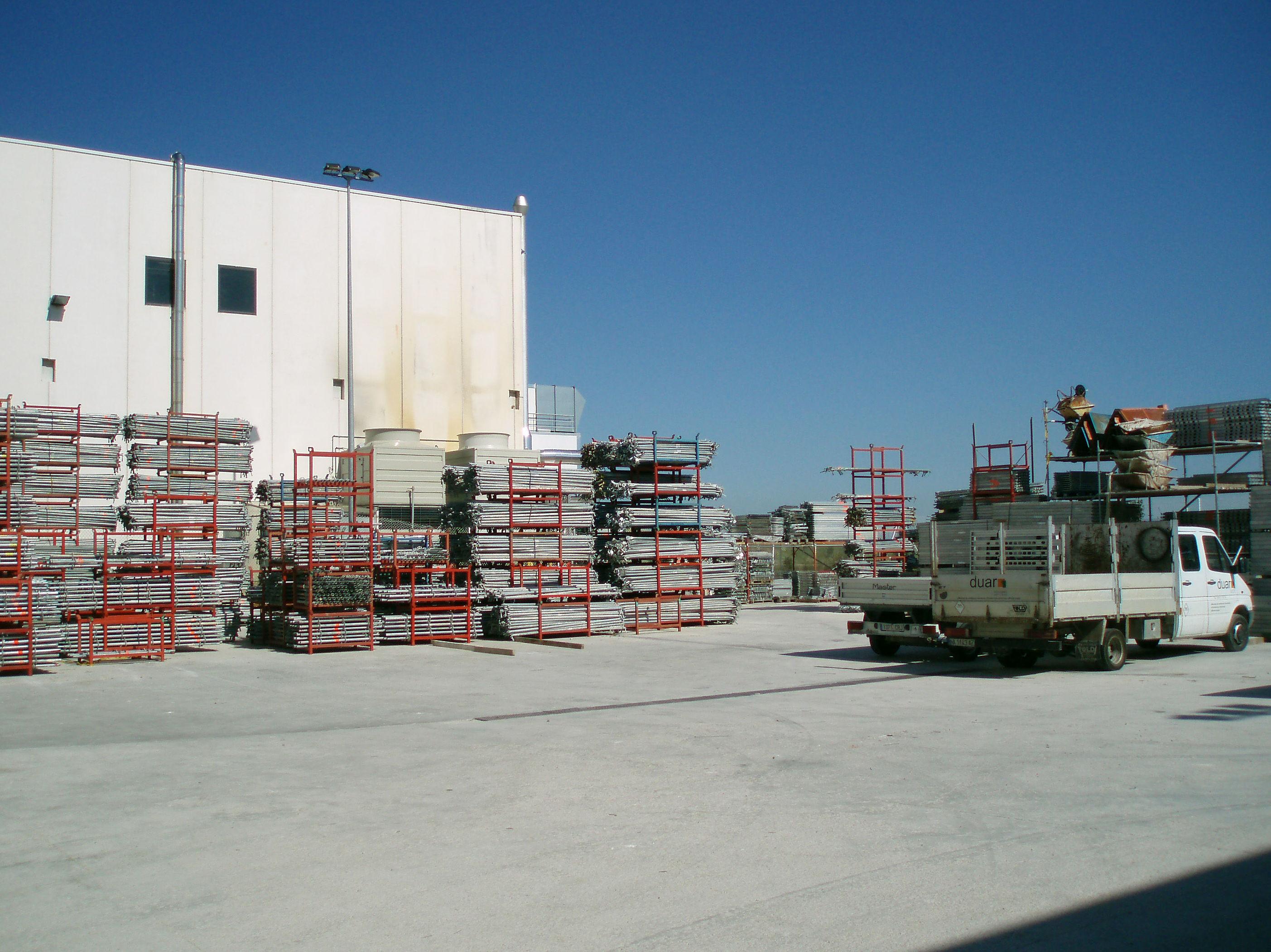 Empresas de andamios en Navarra