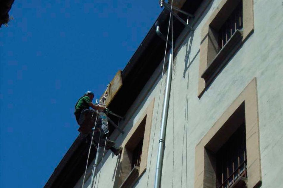 Trabajos verticales en Navarra