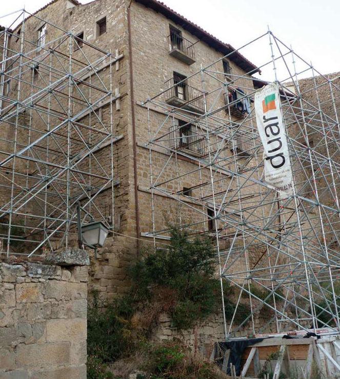 Estabilización de edificios