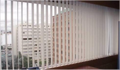 Instalación de persianas verticales en Tenerife
