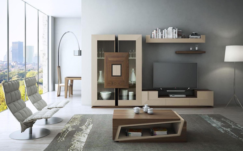 Mobiliario salón. Línea moderna.