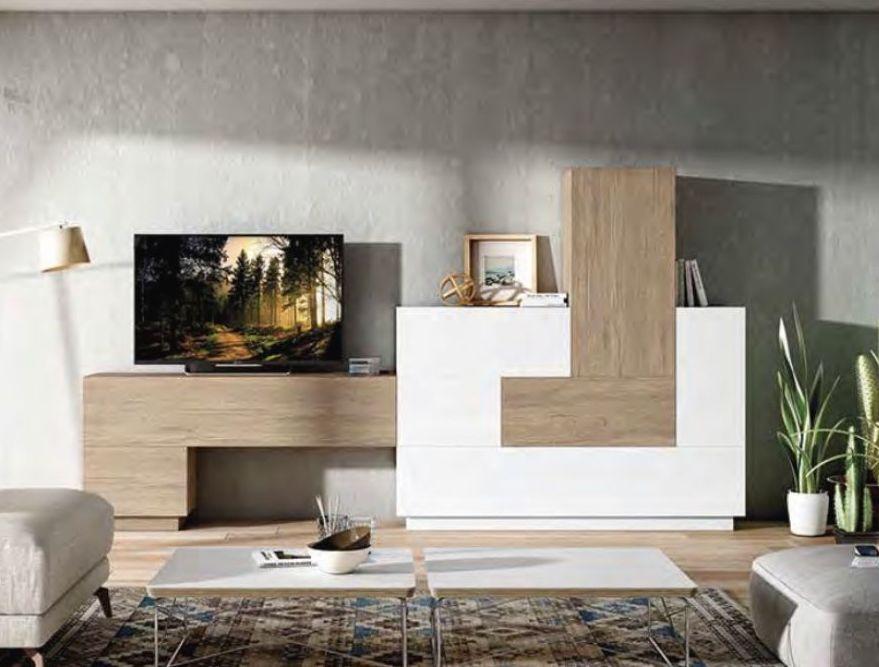 Últimas tendencias en muebles modulares para el salón. Nos adaptamos a todos los estilos!