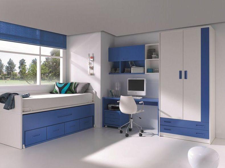 Diseño de muebles de dormitorio juvenil