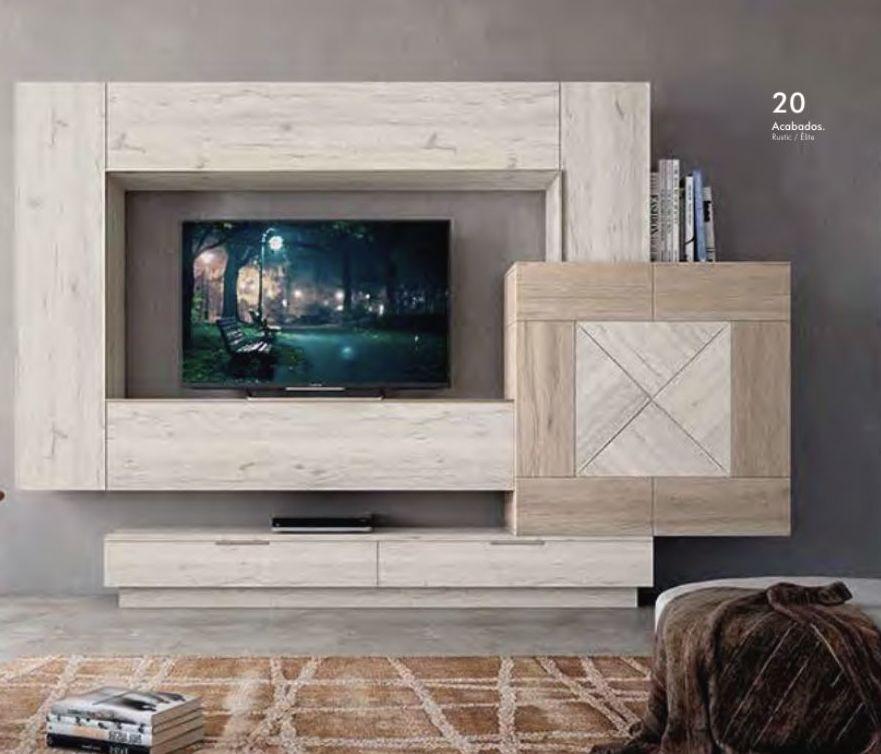 Muebles modulares para el salón
