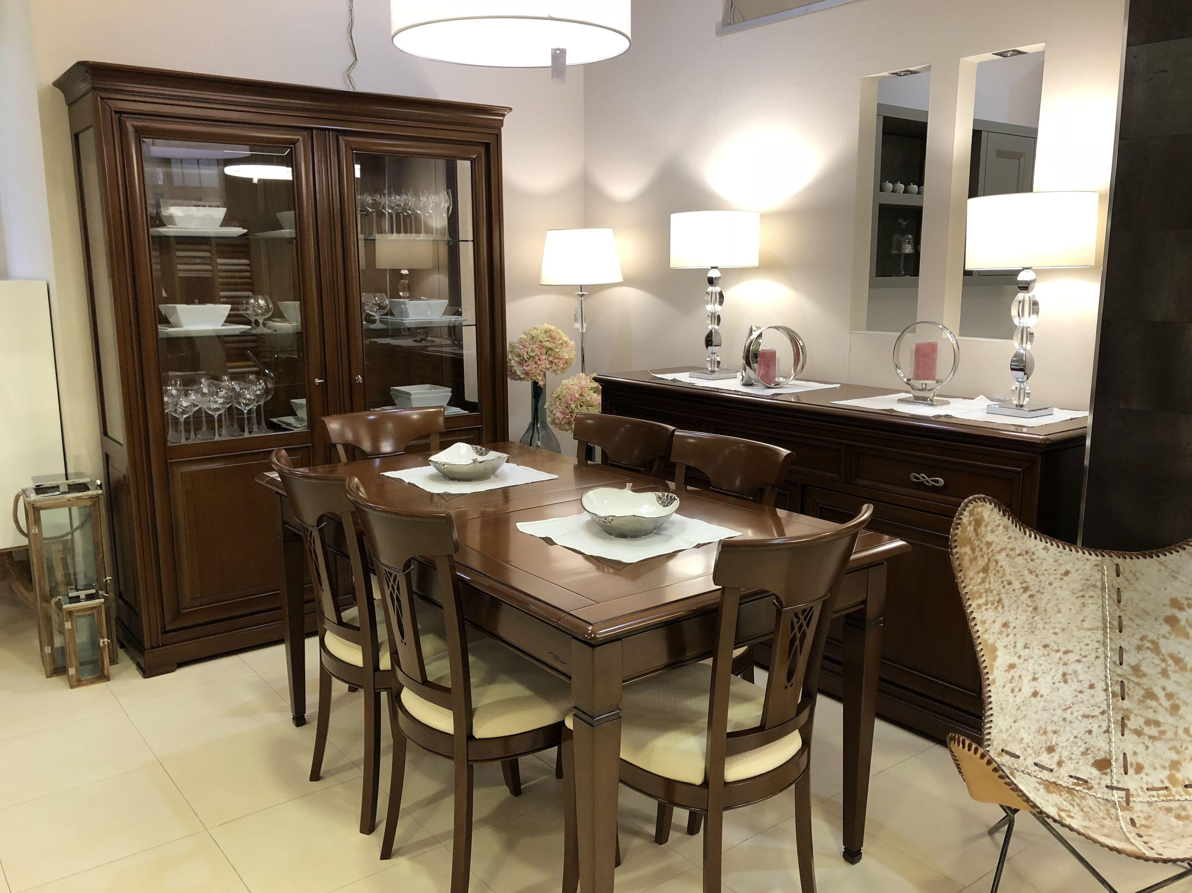 Muebles de salón gama clásica. Nos adaptamos a tu estilo!
