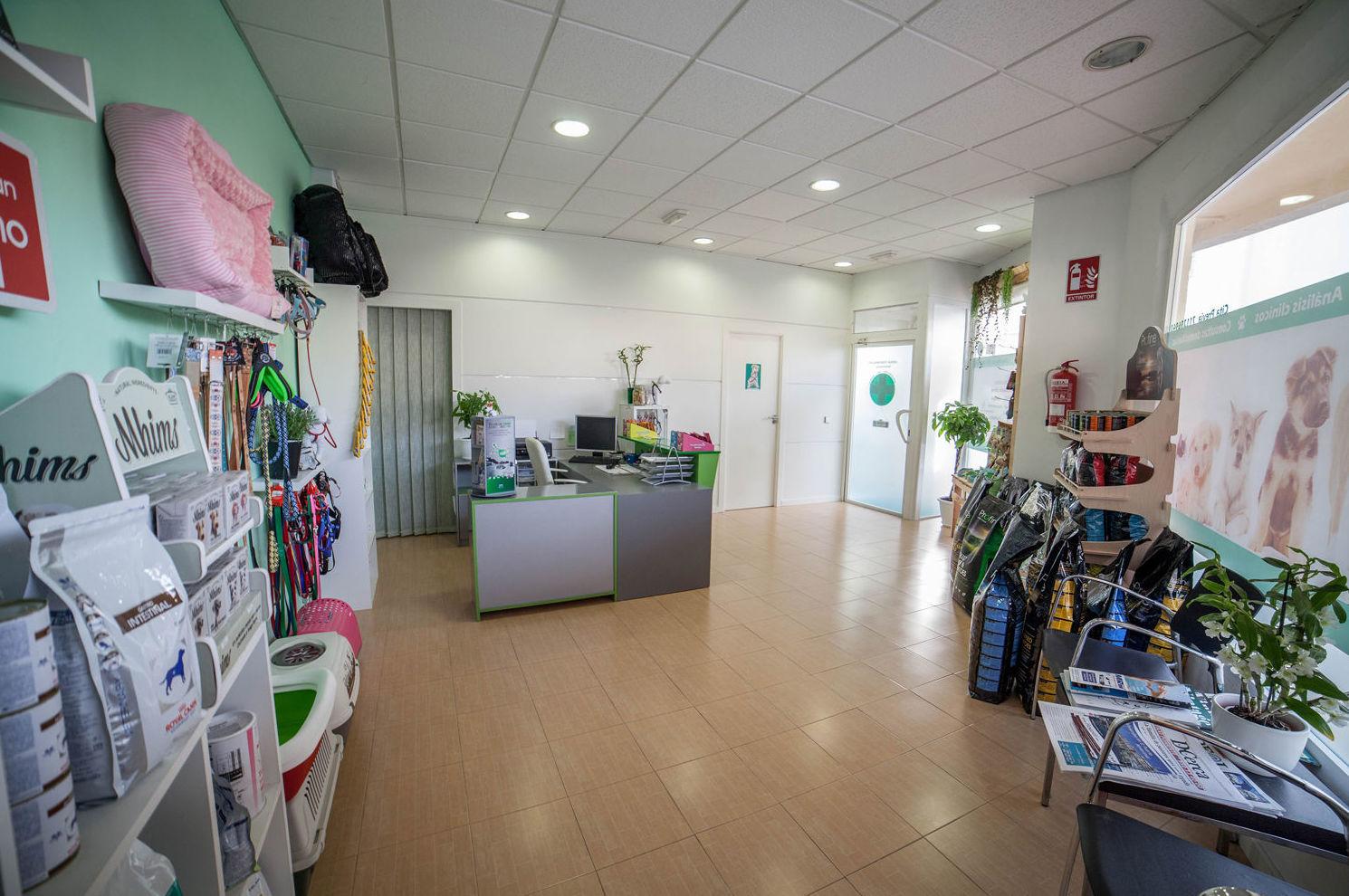 Interior de nuestra clínica veterinaria en Almerimar