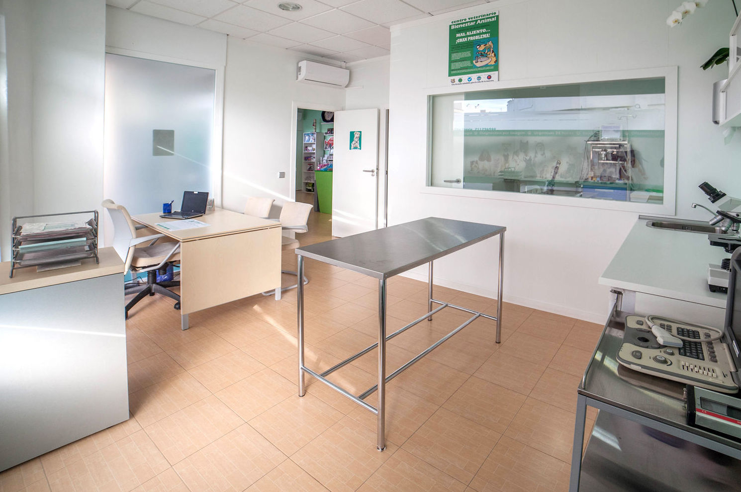 Interior de nuestra clínica