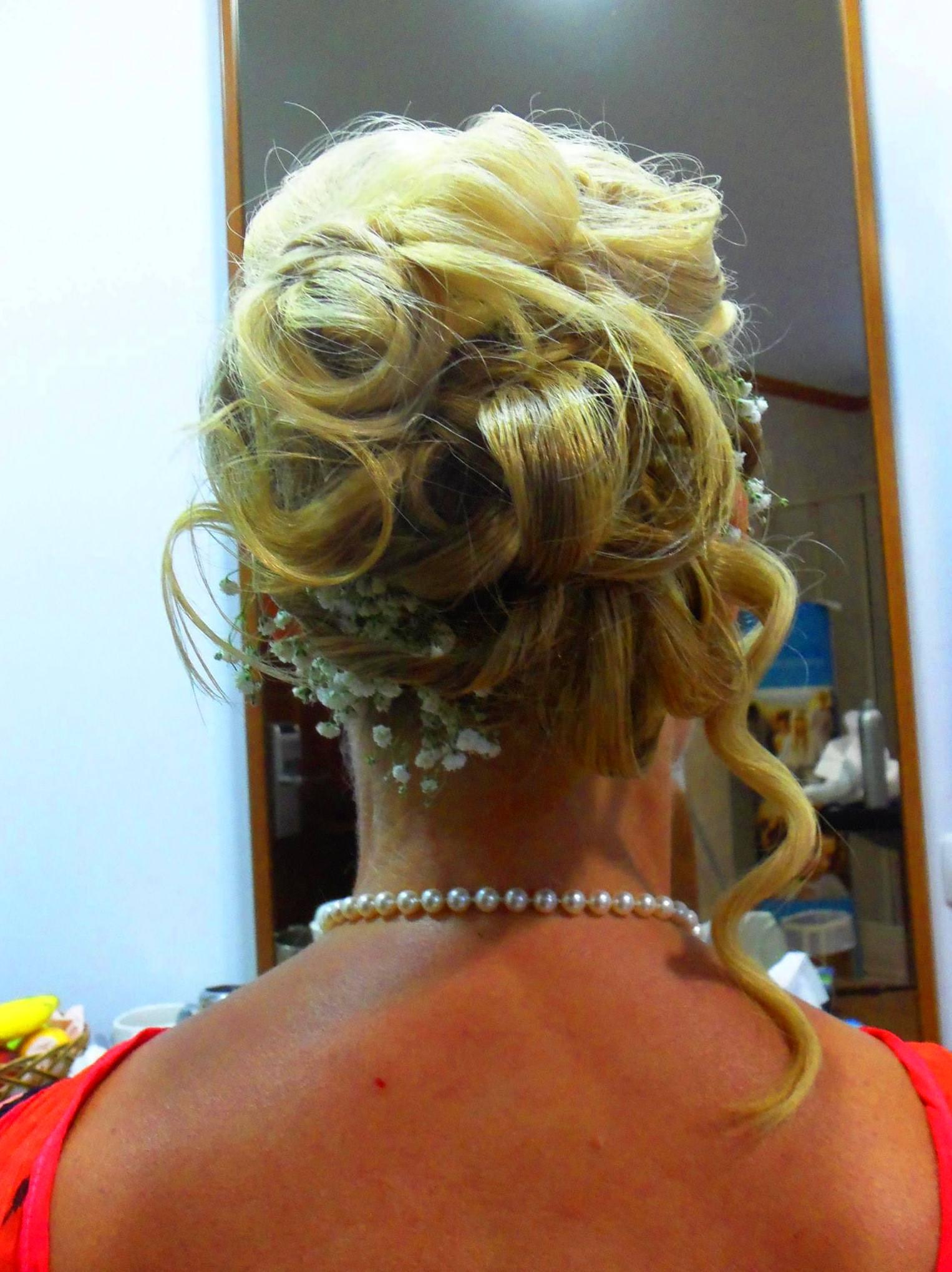 Peinado para una boda