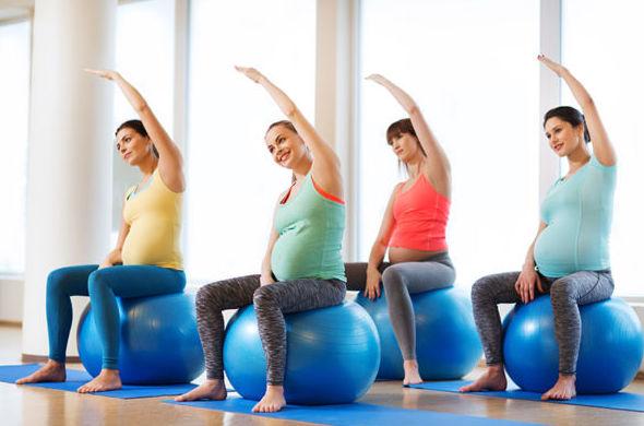 Pilates Pre y Postnatal.
