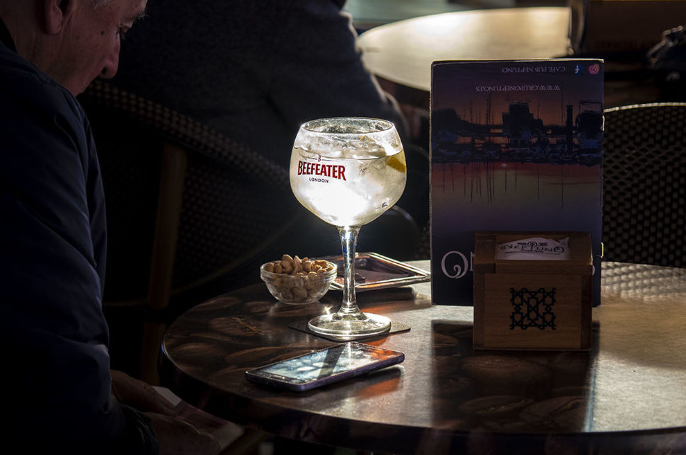 Copas: Productos de Café Pub Neptuno
