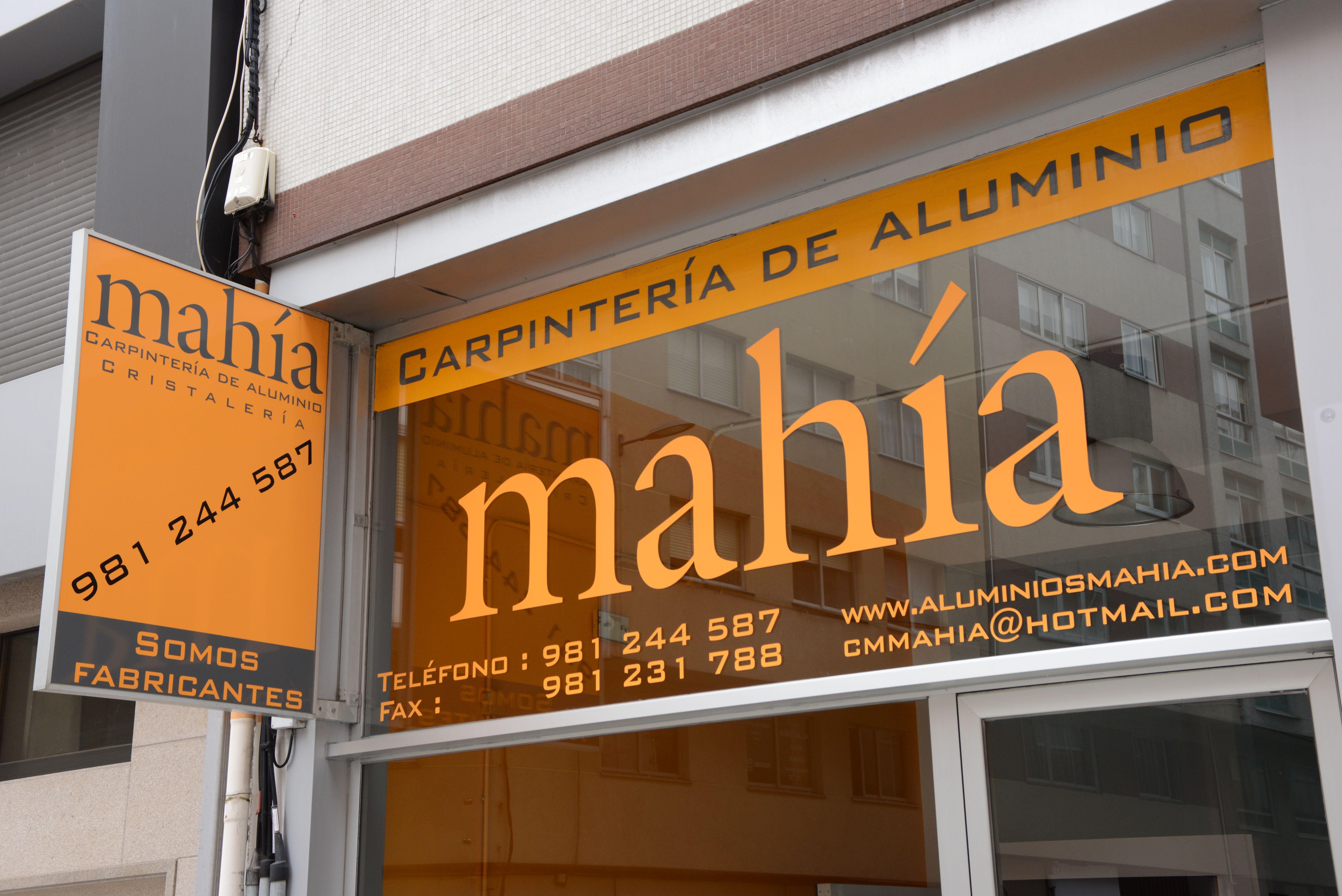 Carpintería aluminio A Coruña
