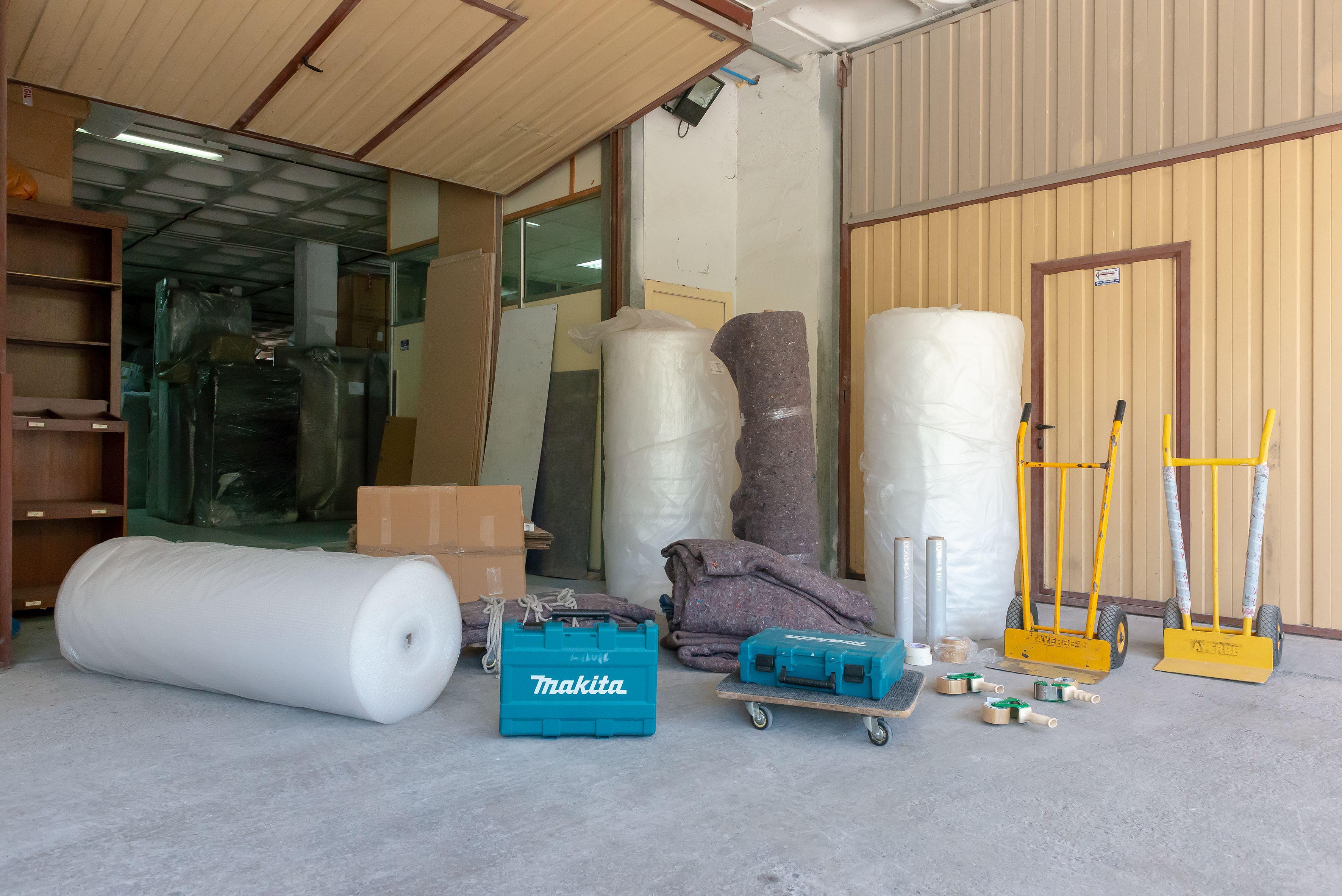 Protección de muebles para traslado mediante embalaje
