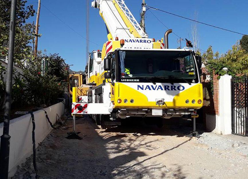 Camiones grúa en Málaga