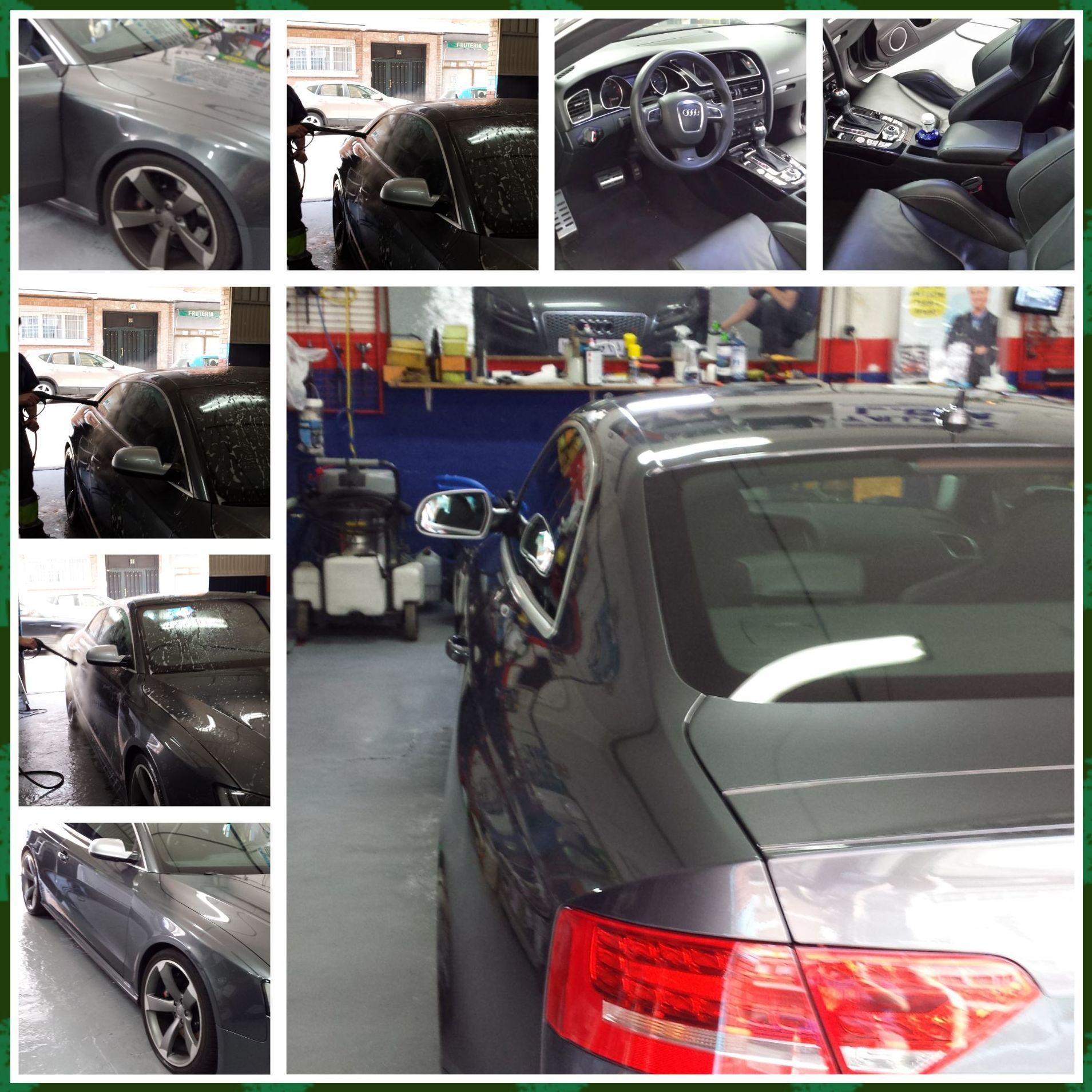 Limpieza de coches de alta gama