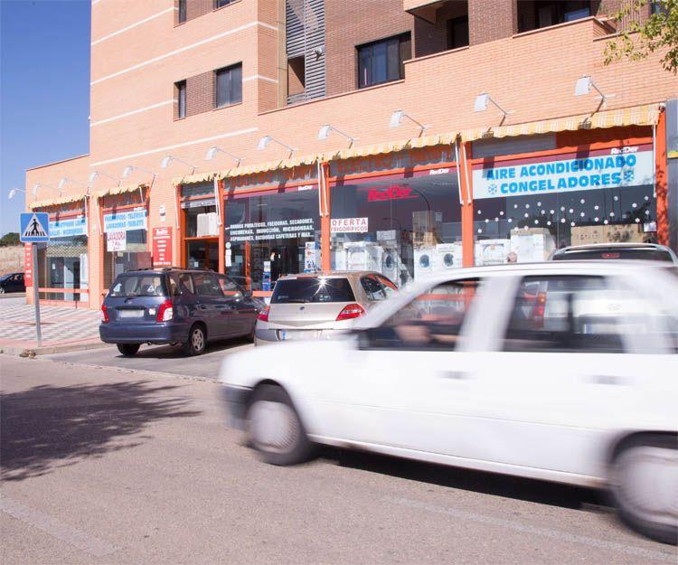 Exterior de nuestra tienda de electrodomésticos en Cuenca