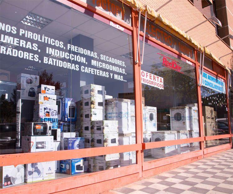 Venta y reparación de electrodomésticos de gama blanca en Cuenca