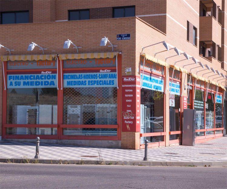 Electrodomésticos de gama blanca en Cuenca