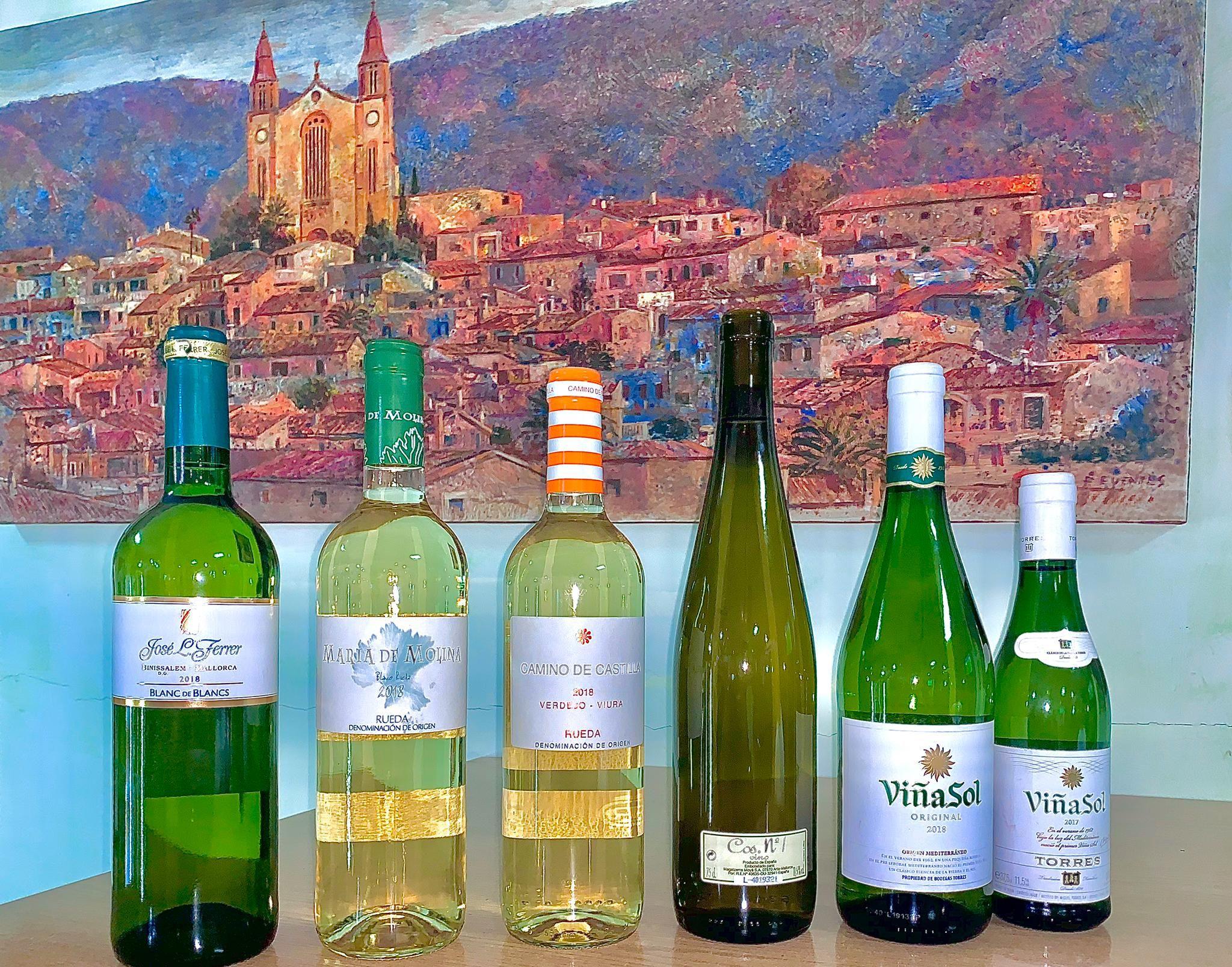 Nuestros vinos blancos