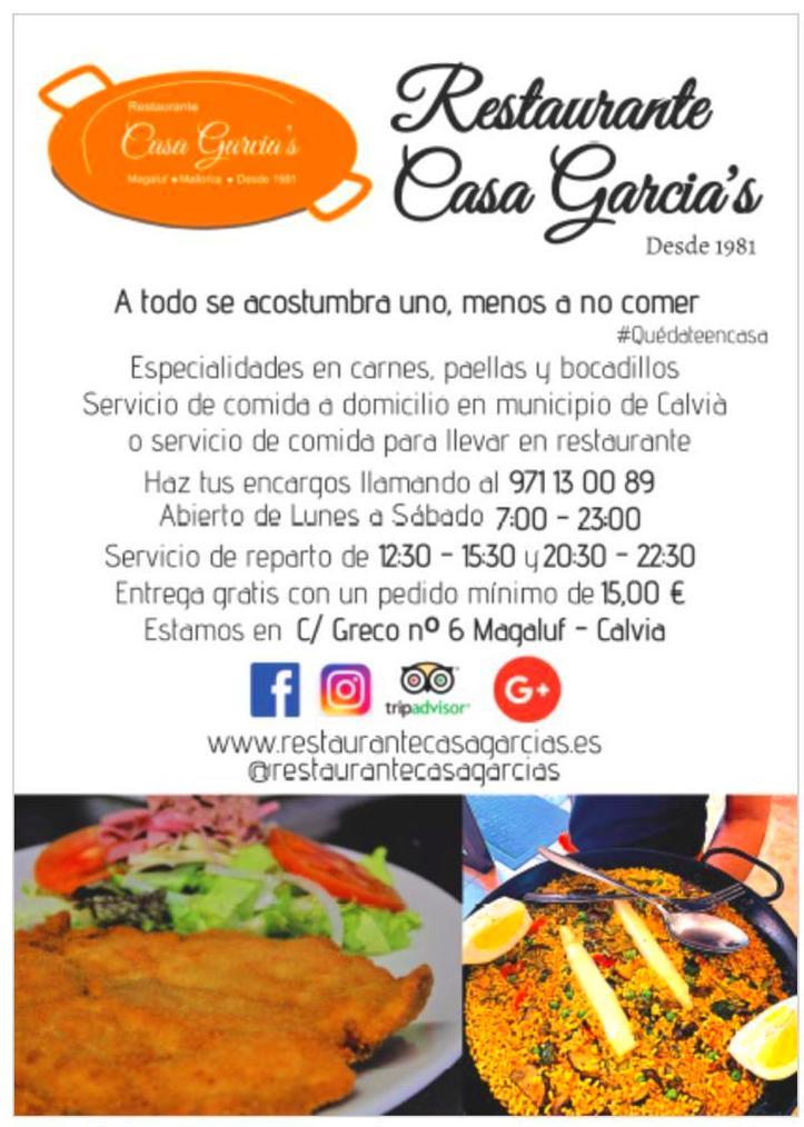 Foto 2 de Cocina tradicional en  | Restaurante Casa García's