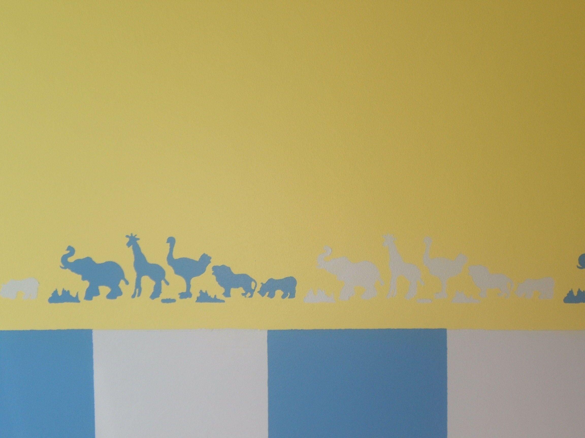 Pintura de habitación infantil en Salamanca