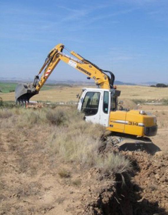 Foto 2 de Excavaciones en Artajona | Hermanos Sola Lorea