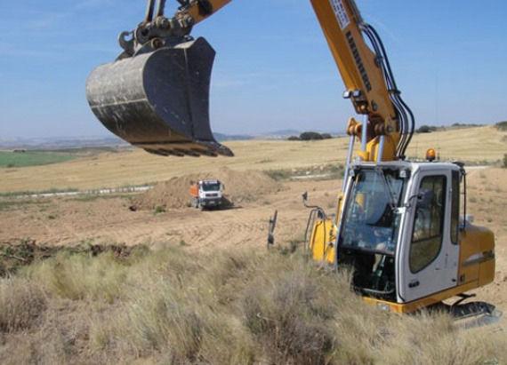 Foto 4 de Excavaciones en Artajona | Hermanos Sola Lorea