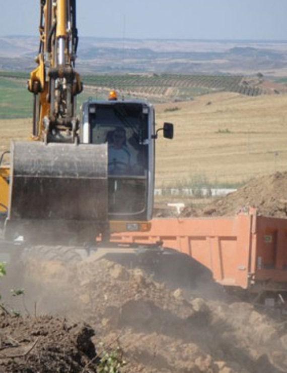 Foto 6 de Excavaciones en Artajona | Hermanos Sola Lorea