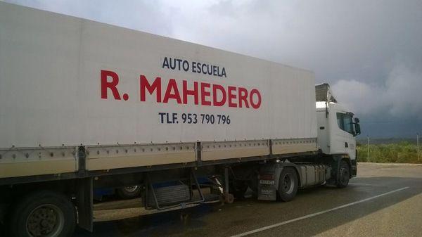 Obtención del permiso de camión C en Sabiote