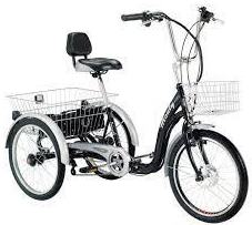 Triciclos con rueda de 20 y 24 pulgadas