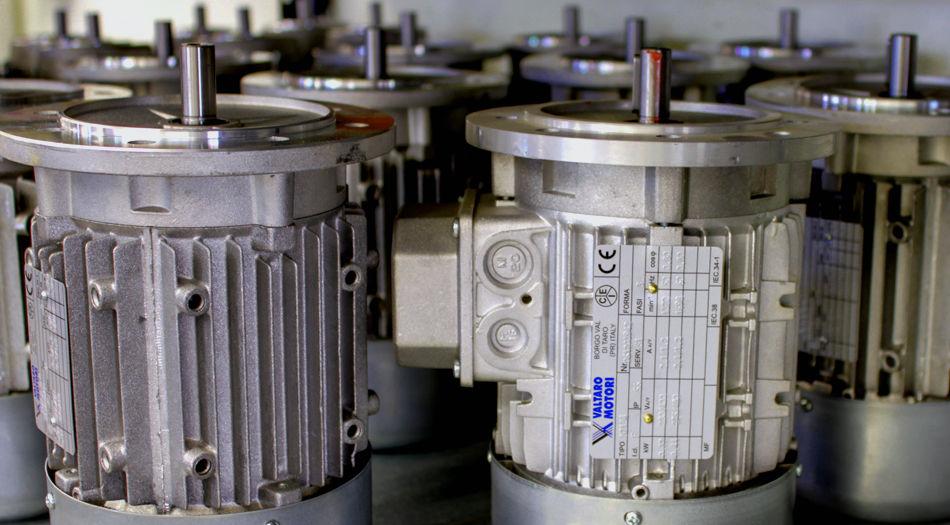 Motores eléctricos industriales
