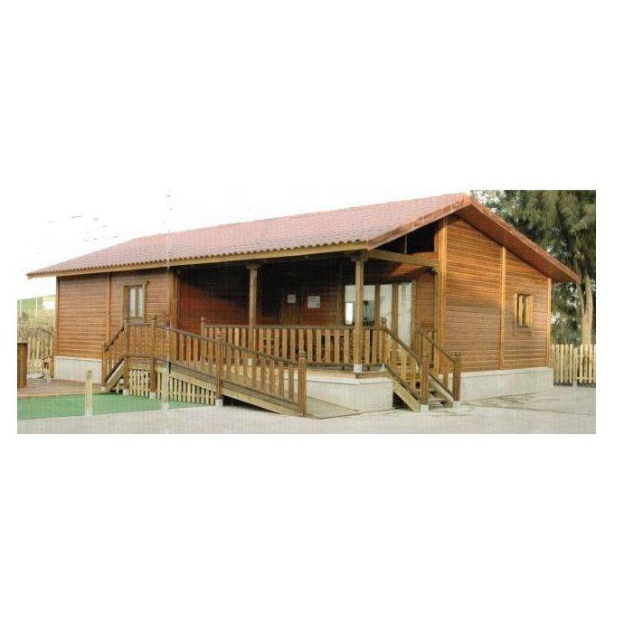 Polanco (108 m2): Casas de madera de 5SCC Casas de Madera