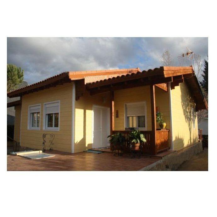 Rafael (123 m2): Casas de madera de 5SCC Casas de Madera