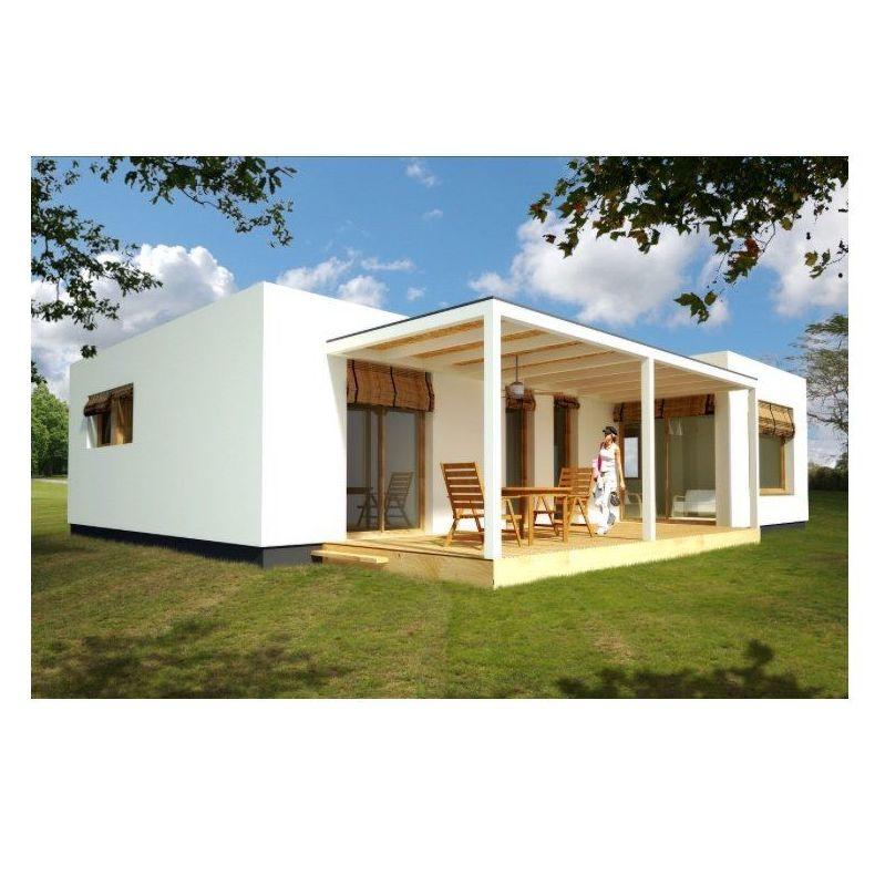 Valentina (90 m2): Casas de madera de 5SCC Casas de Madera