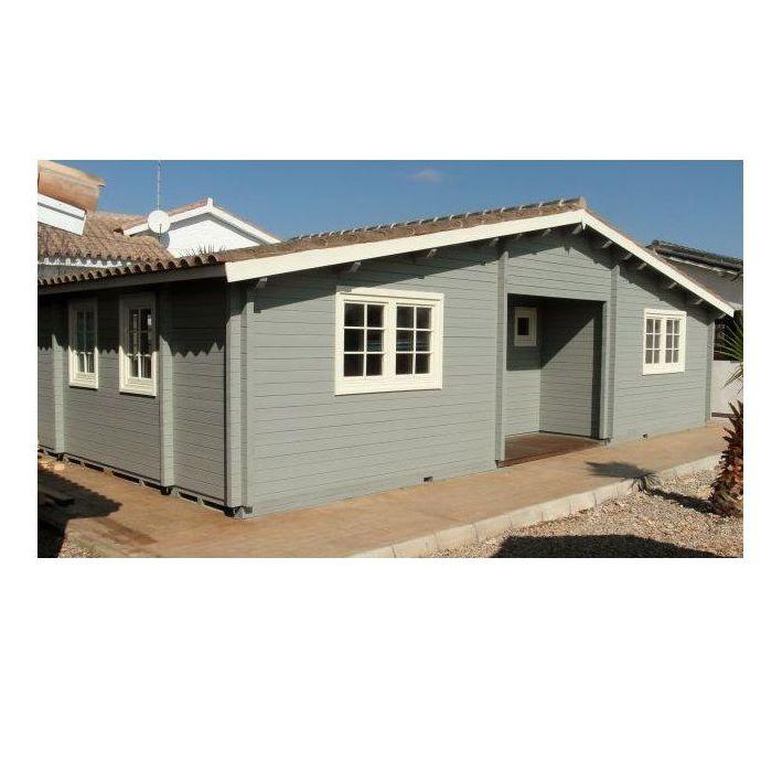 Cambados (62 m2): Casas de madera de 5SCC Casas de Madera
