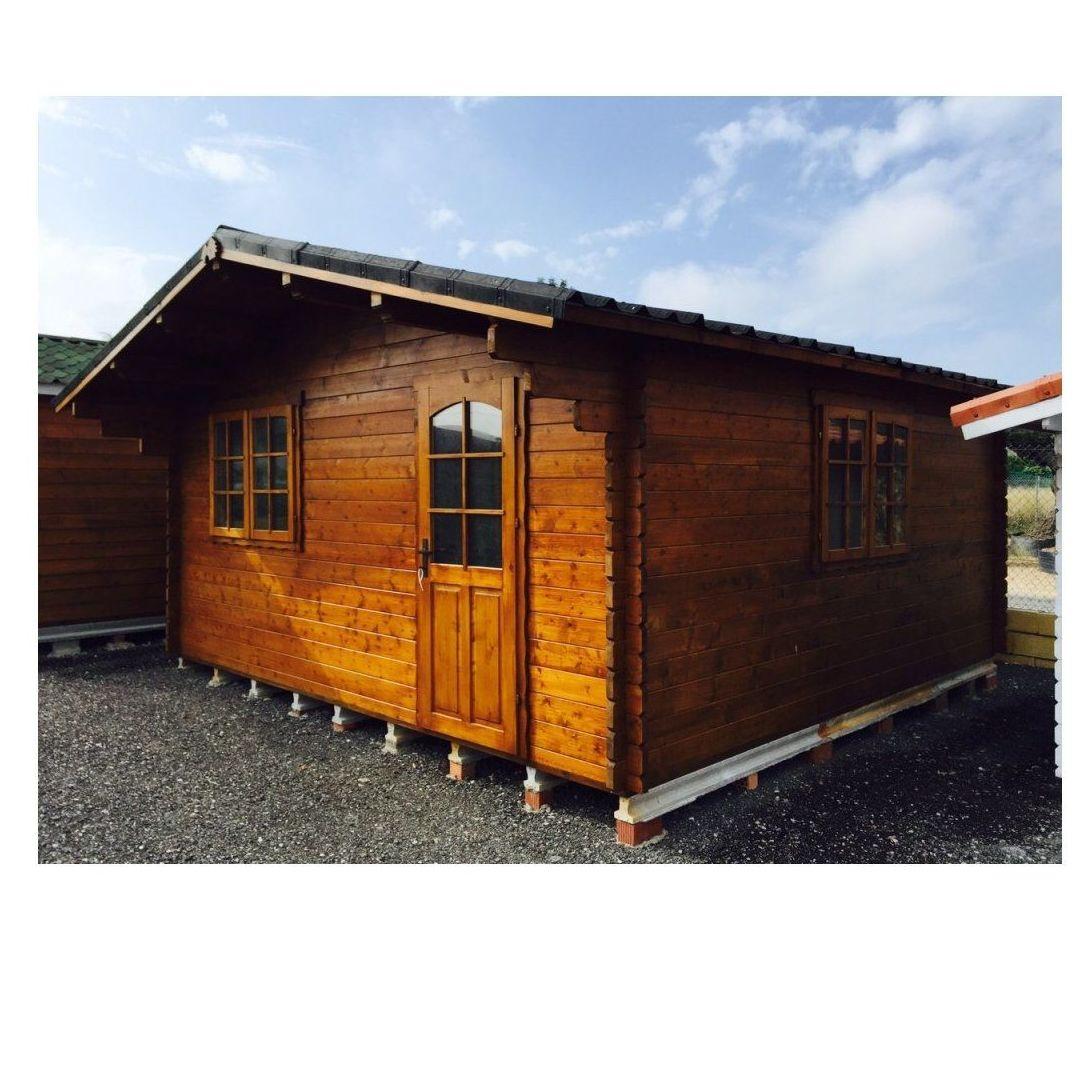 Tina (25 m2): Casas de madera de 5SCC Casas de Madera