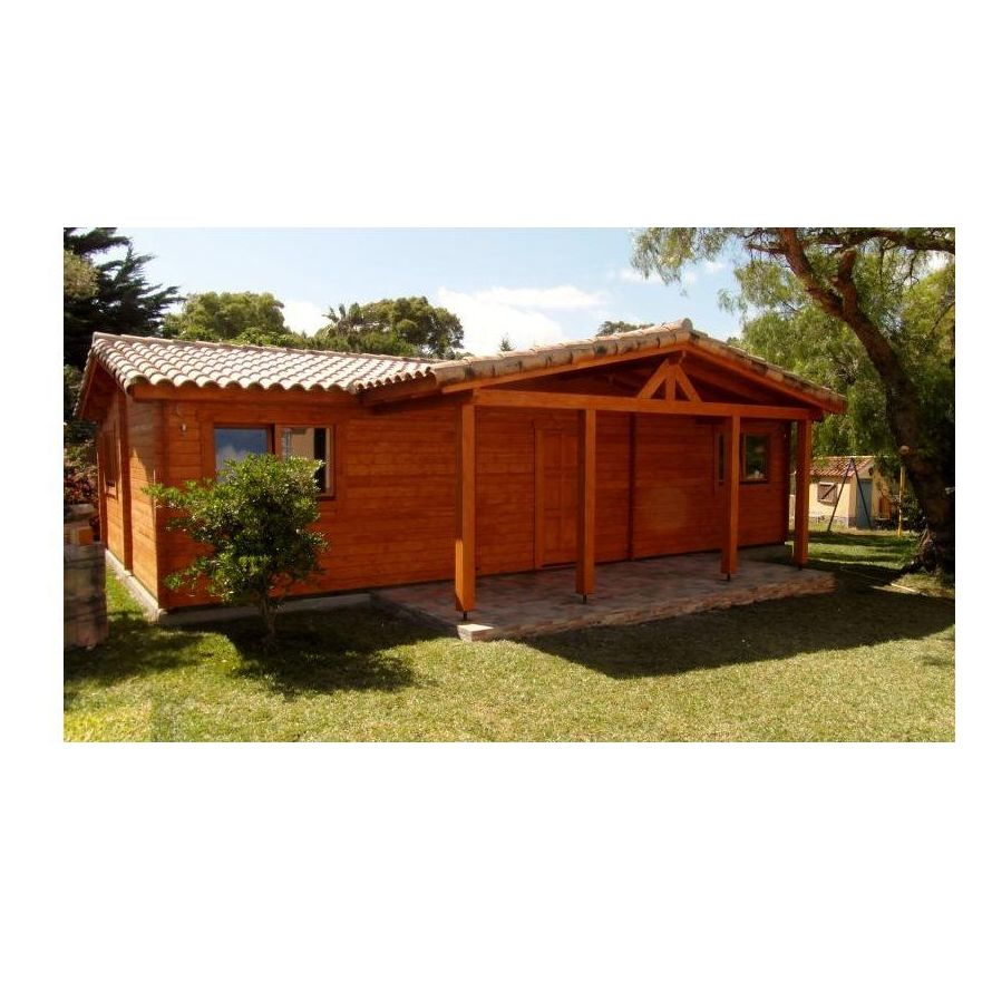 Juan Parra (76 m2): Casas de madera de 5SCC Casas de Madera