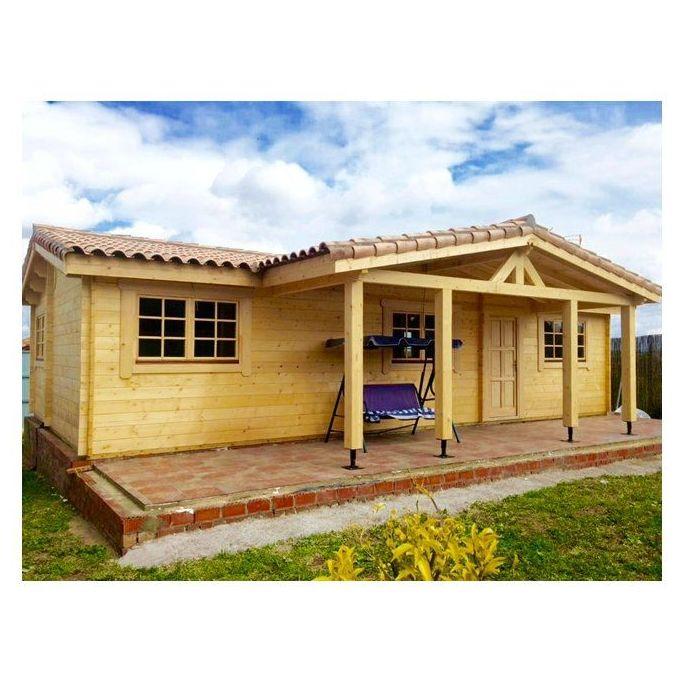 Juan Parra Especial (76 m2): Casas de madera de 5SCC Casas de Madera
