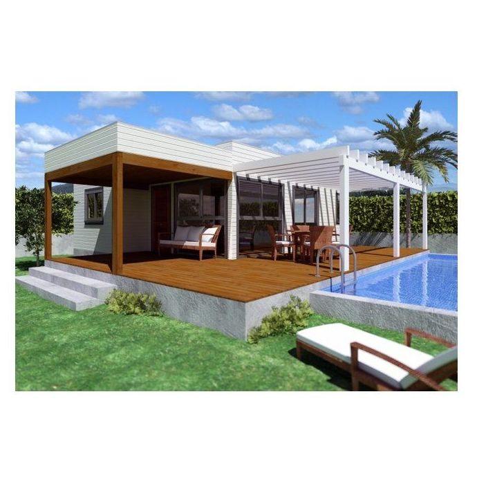 Adriana (90 m2): Casas de madera de 5SCC Casas de Madera