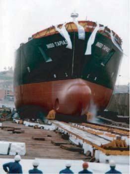 Botadura de barcos en Cantabria
