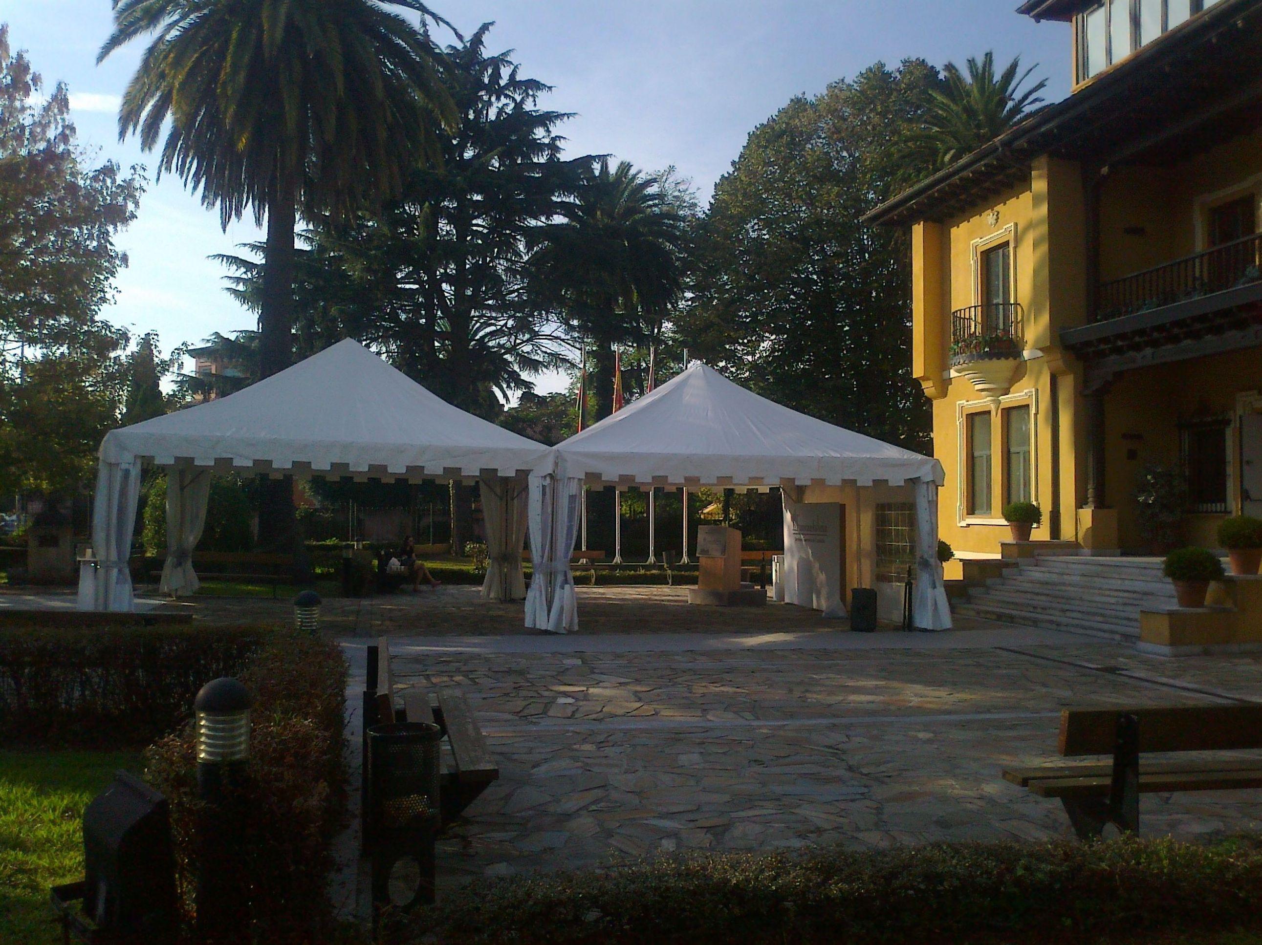 Venta de carpas para eventos en Cantabria