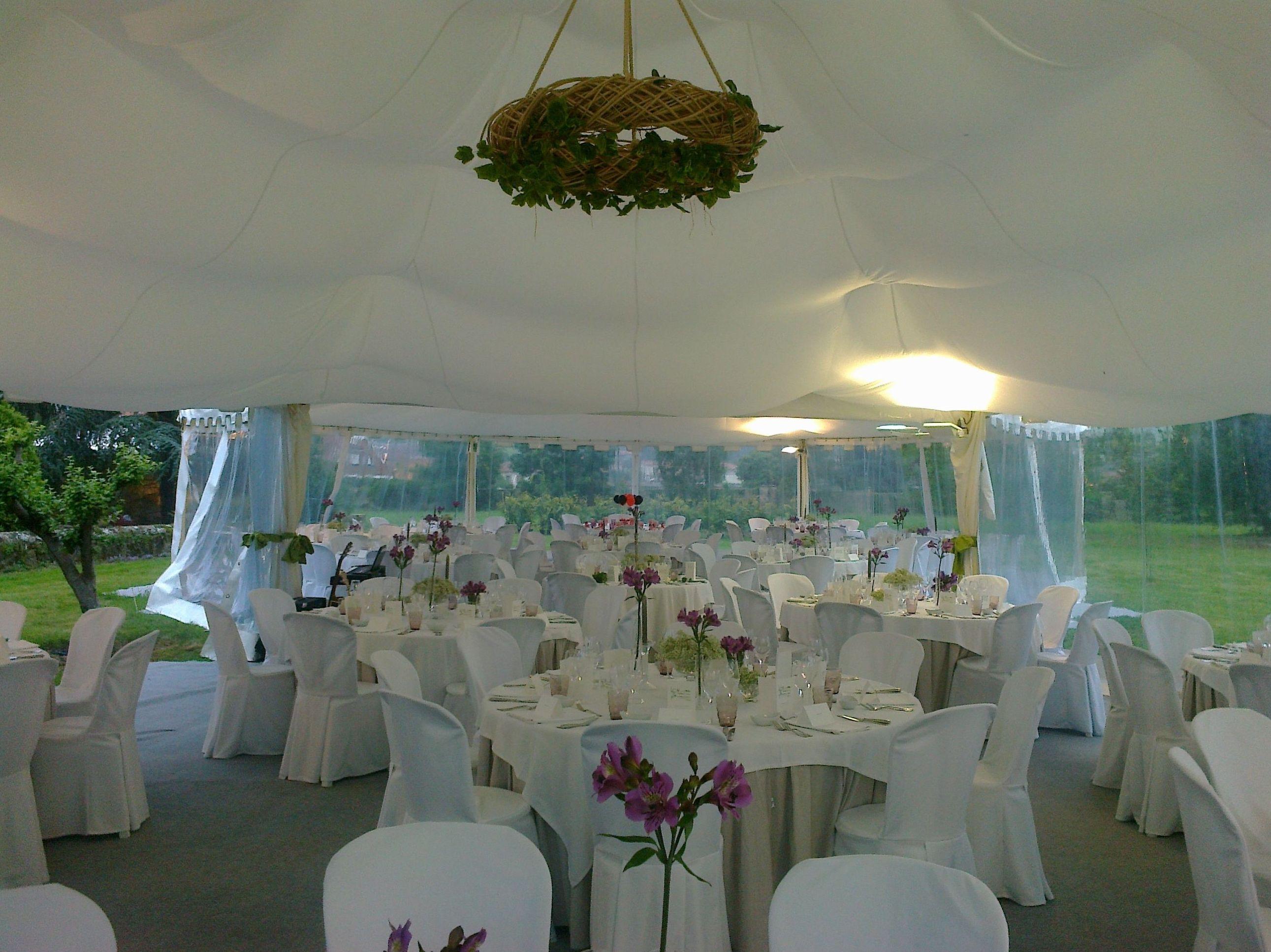 Carpas para bodas en Cantabria