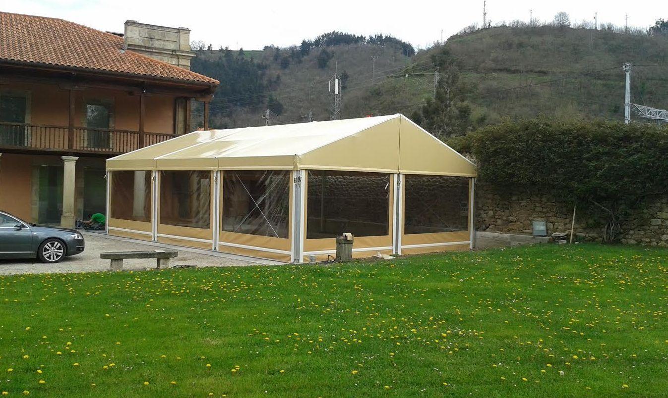 Carpas para eventos en Cantabria