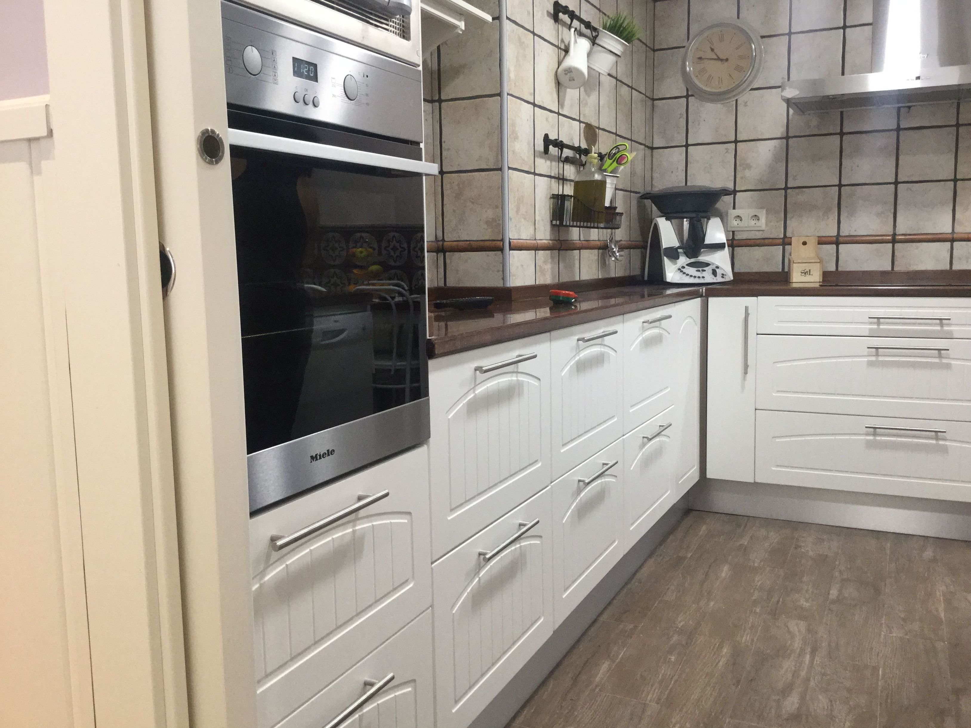 Fabricación de muebles de cocina